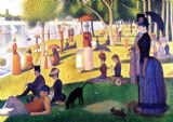 Seurat, Georges Pierre: Sunday Afternoon on the Island of La Grande Jatte. Fine Art Print/Poster. Sizes: A4/A3/A2/A1 (00243)